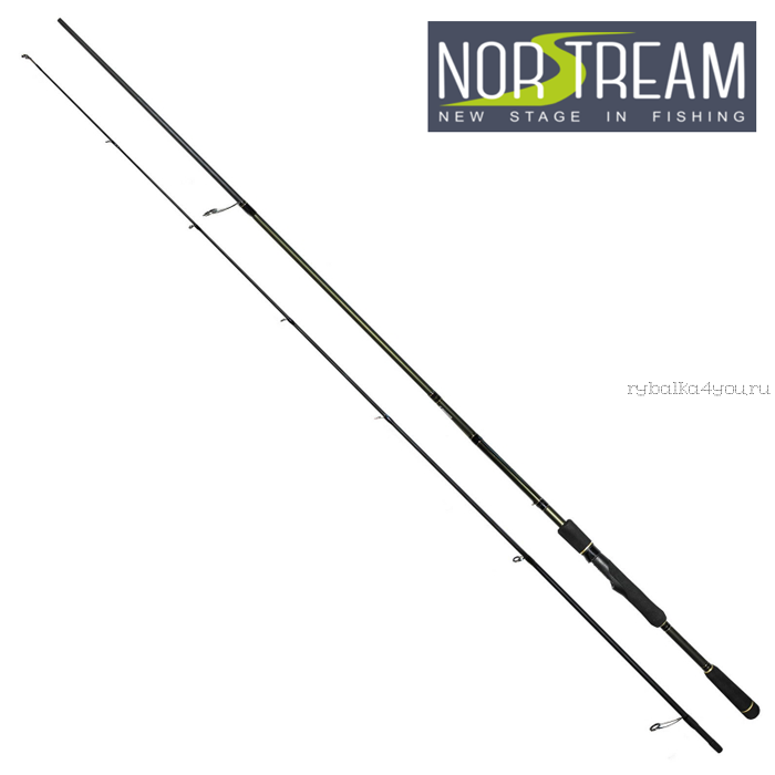 Спиннинг Norstream Invict 2,29 м / тест: 3-15 гр INS-762L