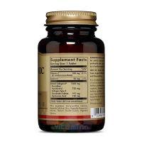 Солгар Гиалуроновая кислота таб. 120 мг. №30 состав
