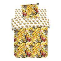 """Детское постельное белье """"Смайлы"""", рис.8906-8907 (Emoji)"""