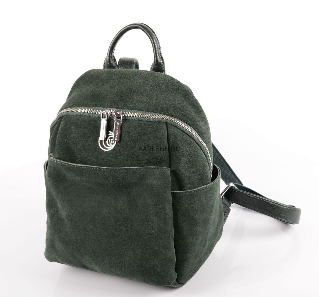 Рюкзак женский Velina Fabbiano (зелёный)
