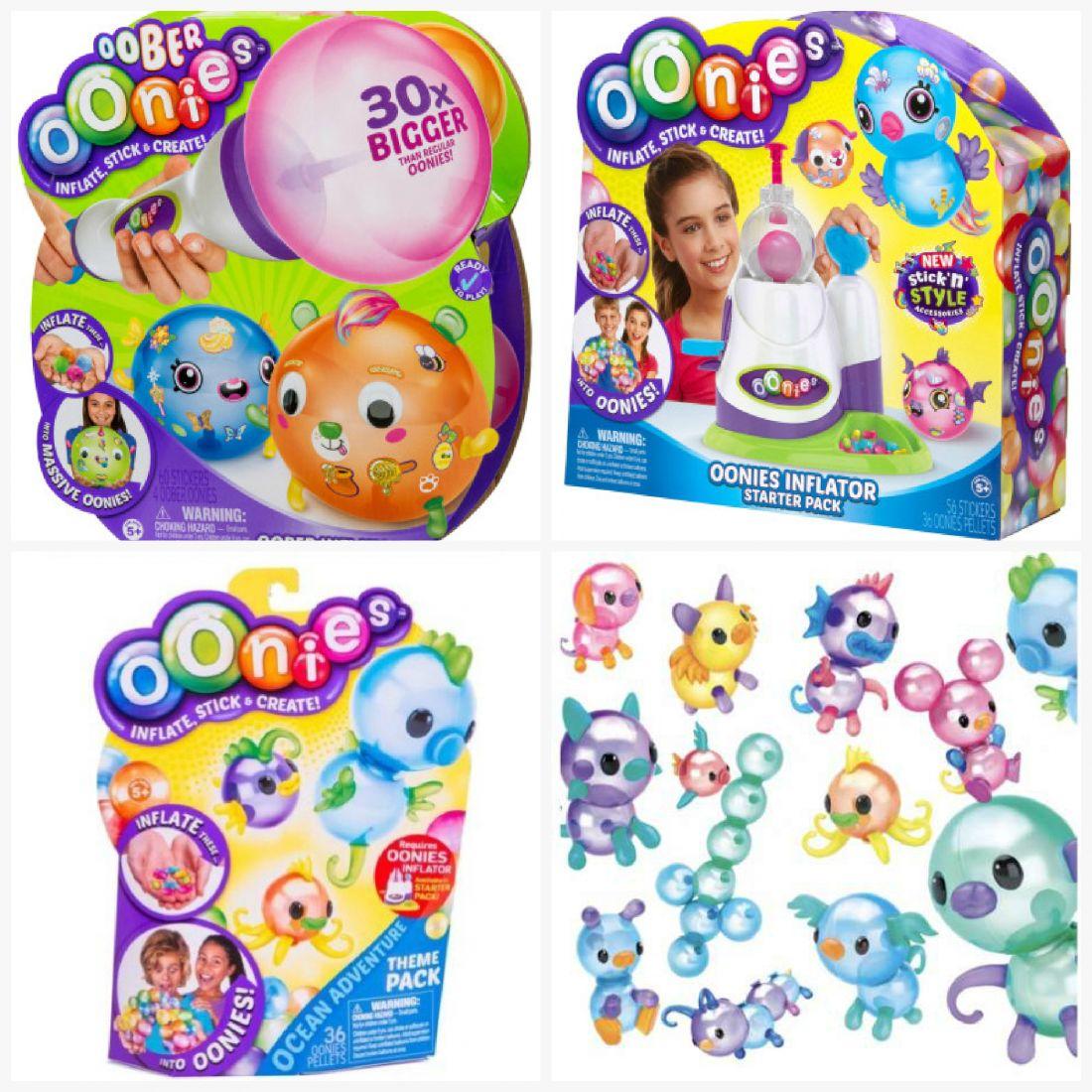 Oonies Конструктор из шаров + Стартовый набор Oober + Дополнительный набор шариков Oonies