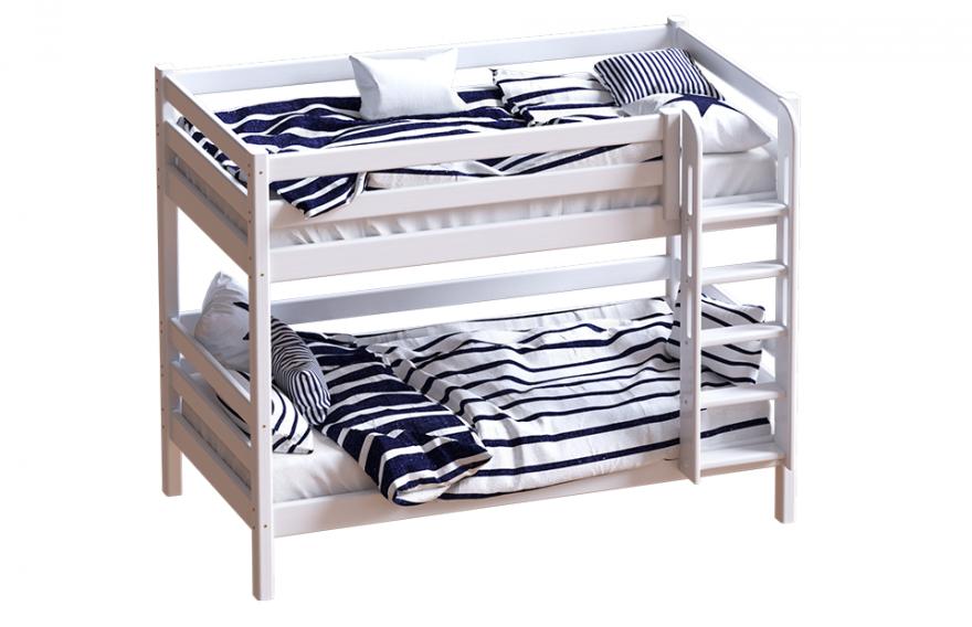 """Кровать """"Авалон"""" с прямой лестницей. МебельГрад"""