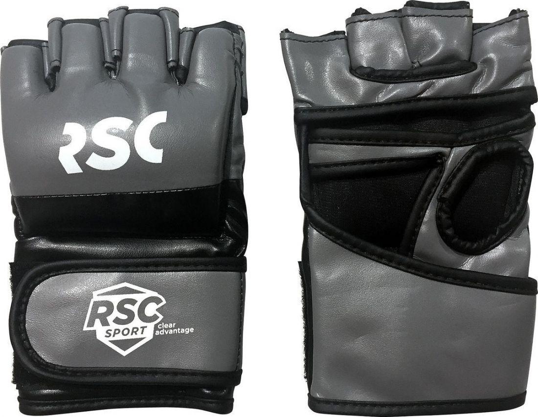 Перчатки для ММА RSC SB-03-330 серо-черные