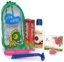 CJ Lion Дорожный косметический набор для мужчин 5 предметов