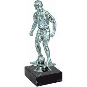 Приз статуэтка футболист серебро