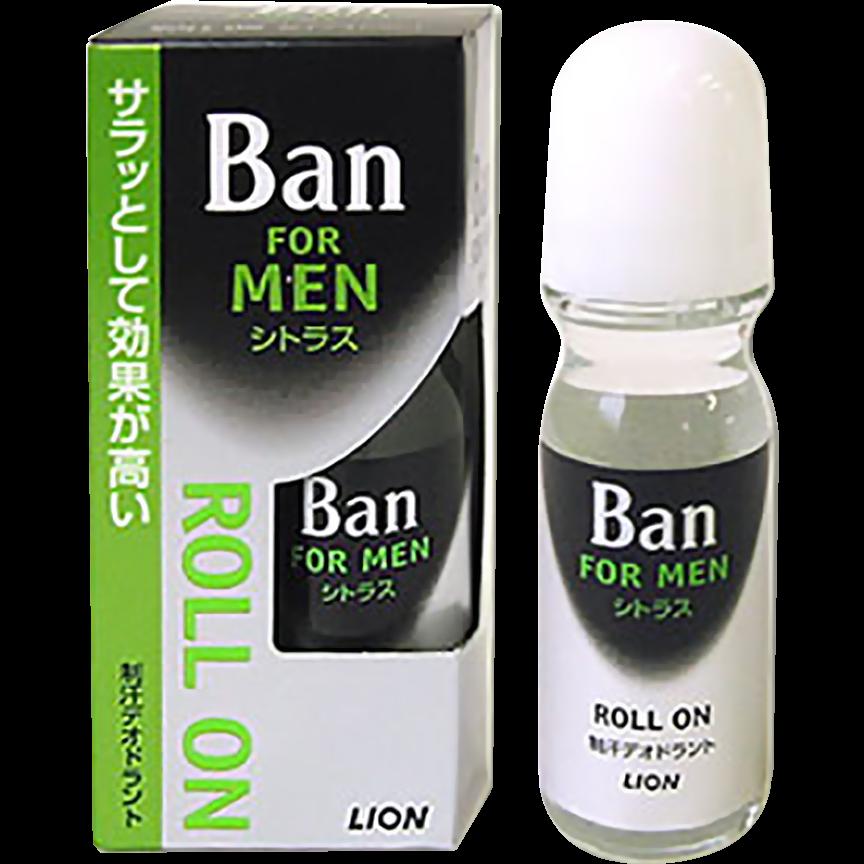 Lion Ban Roll On Мужской классический освежающий роликовый дезодорант Аромат цитрусовых 30 мл
