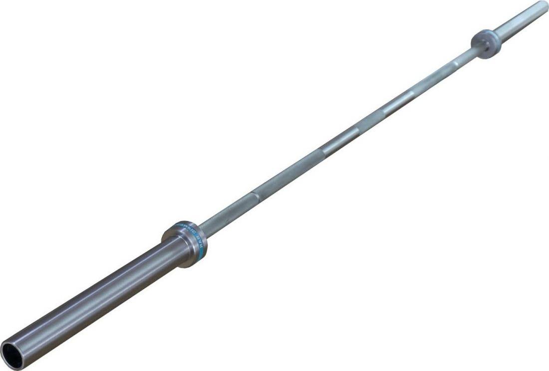 Гриф для пауэрлифтинга ZSO, D-50, L2200, гладкая втулка, до 680 кг, замки-пружины