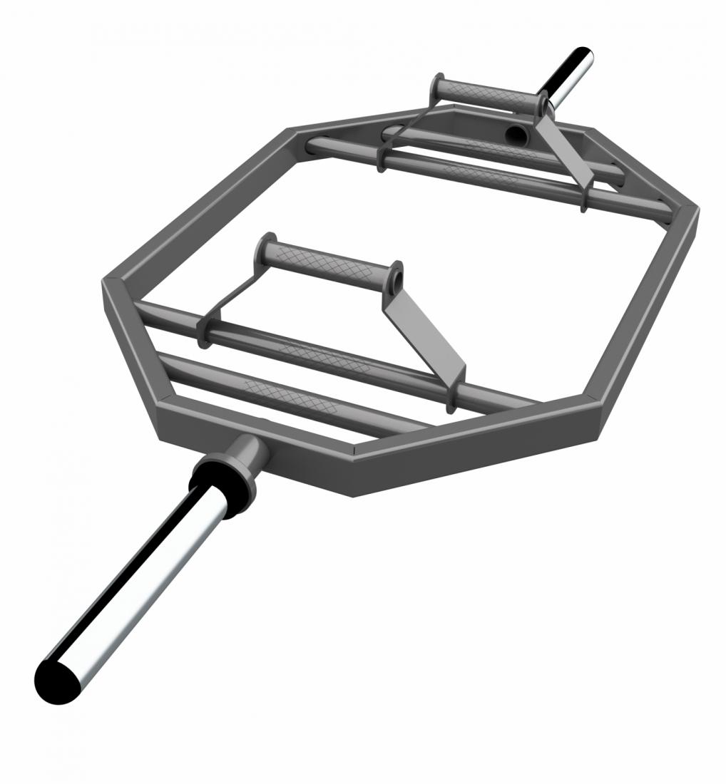 Гриф трэп-гриф ZSO, D-50, L1830, гладкая втулка.