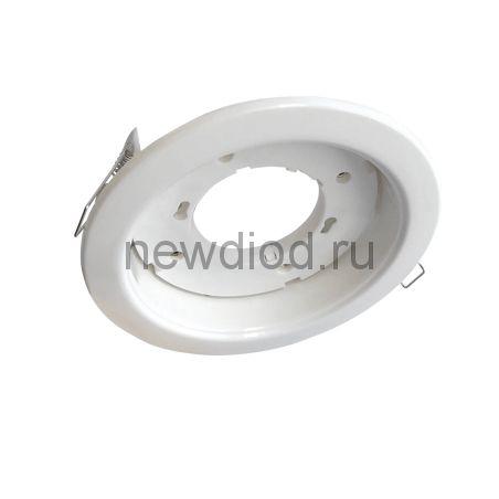 Светильник встраиваемый GX70R-W металл под лампу GX70 230В белый IN HOME