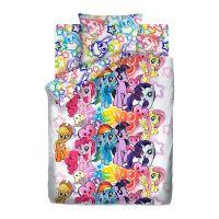 "Детское постельное белье ""Граффити"", рис.16027-1-16028-1 (My little Pony Neon), 1.5сп."
