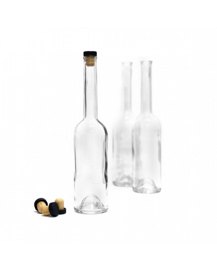 Бутылка Винный шпиль, 0,5 л./ 12 шт. (пробка в комплекте)