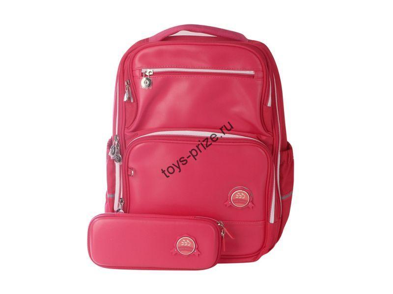 Рюкзак школьный ортопедический с органайзером Xiaoyang Backpack Pink