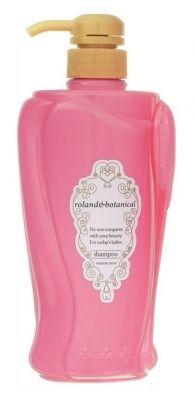 Cosmetex Roland Roland & Botanical Восстанавливающий шампунь для придания блеска волосам 550 мл