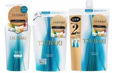 """SHISEIDO"" ""TSUBAKI SMOOTH"" Разглаживающий шампунь для волос с маслом камелии"