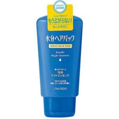 """SHISEIDO"" ""MOIST HAIR PACK"" Увлажняющая ночная эссенция для поврежденных волос, 120 гр."