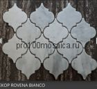 ROVENA BIANCO. Мозаика мрамор,  размер, мм: 335*250*8 (ORRO Mosaic)