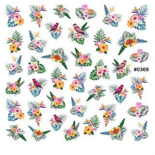 Слайдер-дизайн для ногтей № 0369