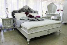 Кровать БАРОККО 180*200 с подъемным механизмом эмаль