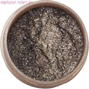 Сухой блестящий краситель Серебряные звёзды 5г. Food Colours