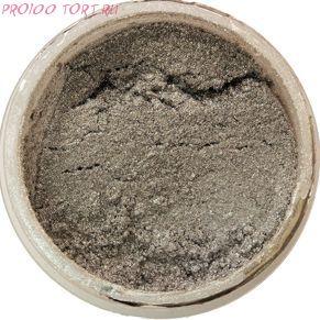 Сухой блестящий краситель Металлический серебряный  5г. Food Colours