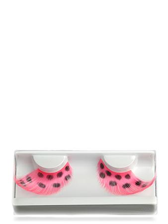 Make-up Atelier Paris Накладные ресницы розовые в черный горошек CIL4592