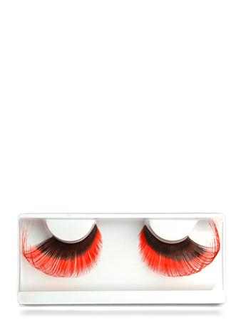 Make-up Atelier Paris Накладные ресницы красные с черным CIL4579