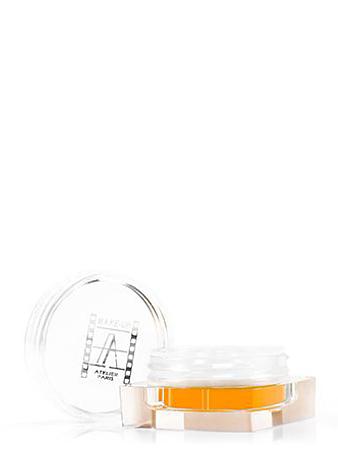 Make-up Atelier Paris Рассыпчатая флуоресцентная пудра PF9 желто - оранжевый