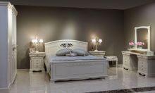Кровать ЛАУРА 160*200 с изножьем эмаль