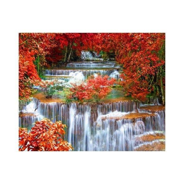 Картина по номерам Водопад 40*50см