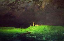После дождя  (Репродукция Архип Куинджи 1879 г.)