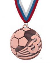 Медаль Ливерпуль наградная с лентой 3 место 50 мм