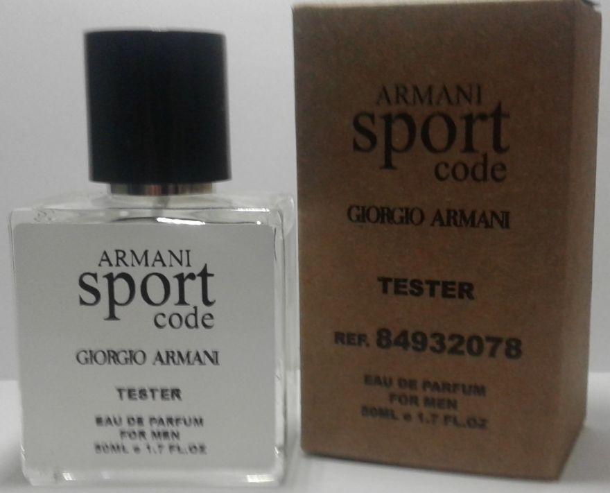 Мини-Tester Giorgio Armani Armani Сode Sport 50 ml (ОАЭ)