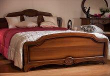Кровать ОРХИДЕЯ 160*200 с изножьем пленка
