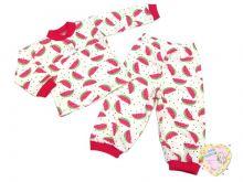 Пижама для девочки с кокеткой C-PJ023(2)-SU (супрем)