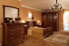 Спальня ЛАУРА орех 4-дверный шкаф