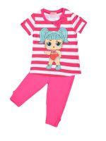 Костюм для девочек 3-7 лет Bonito BK1190KP розовый