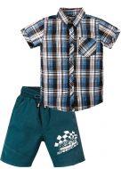 Костюм для мальчика 2-5 лет Bonito OP342 голубой