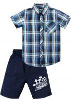 Костюм для мальчика 2-5 лет Bonito OP342 синий