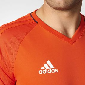 Футболка adidas Tiro 17 Training Jersey оранжевая