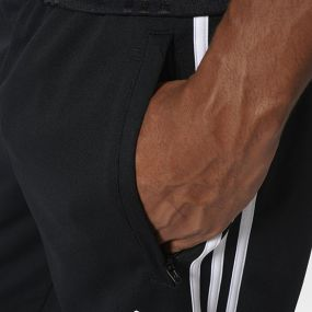 Футбольные штаны adidas Tiro 17 Training Pants чёрно-белые