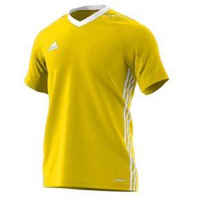Игровая футболка adidas Tiro 17 Jersey жёлтая