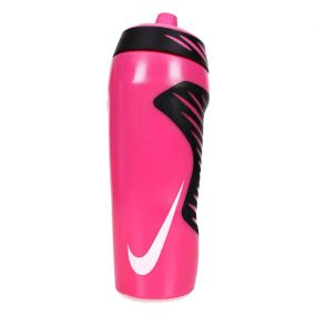 Розовая спортивная бутылка для воды Nike hyperfuel water bottle 530 мл