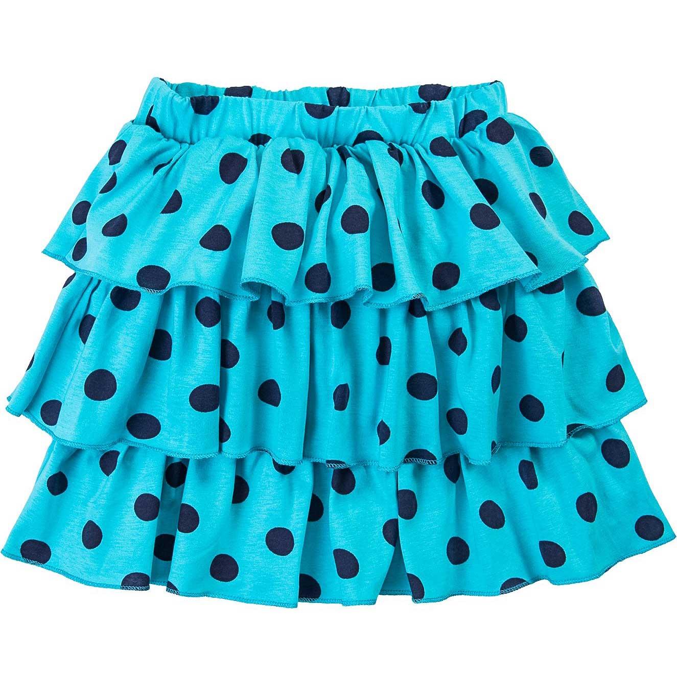 Юбка для девочек Bonito голубая