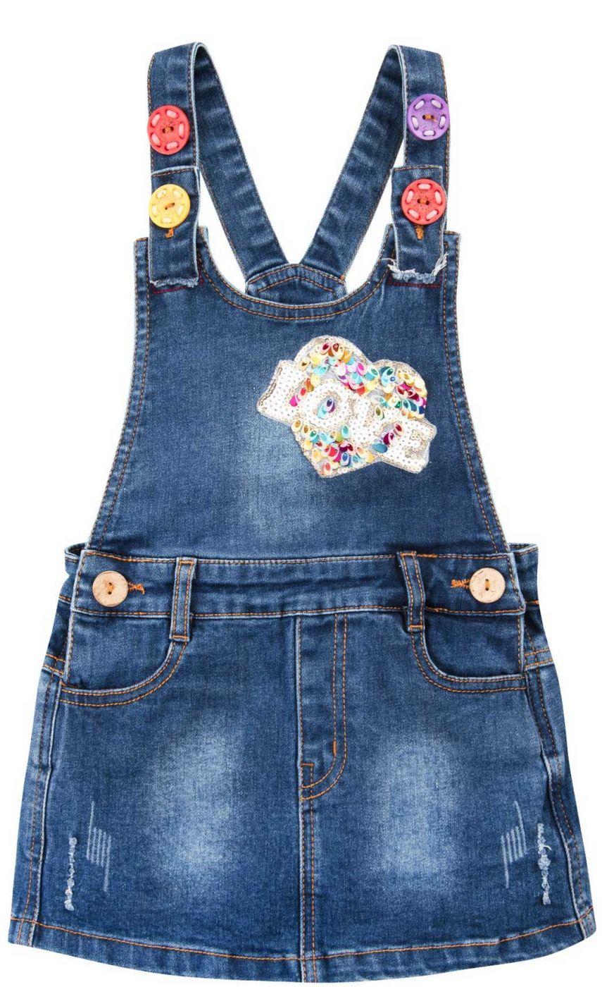Сарафан джинсовый для девочки Bonito Jeans