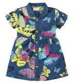 Джинсовое платье на девочки Bonito с бабочками