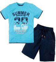 Костюм для мальчика 2-5 лет Bonito OP344 голубой