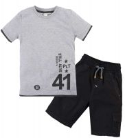 Костюм для мальчика 2-5 лет Bonito OP344 серый