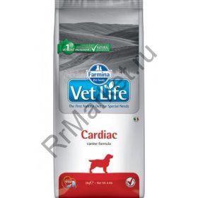 Farmina Vet Life Dog Cardiac-корм для собак для поддержания работы сердца