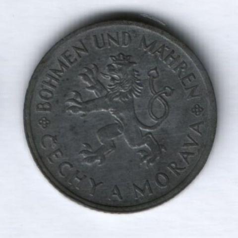 10 крона 1943 года Богемия и Моравия (Чехия)