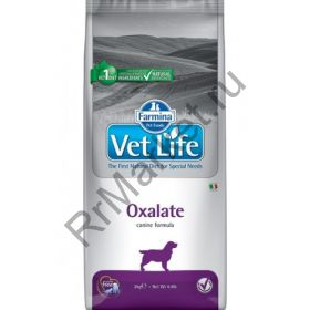 Farmina Vet Life Dog Oxalate - корм для собак при оксолатах